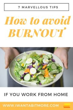 How to avoid burnout if you work from home.  It's easy to burn out when you are your own boss!  Sometimes you drive yourself harder than anyone else. Try these routines to help you achieve balance in your life and not over-do it.  #workfromhome #gigeconomy #sidehustle #selfemployed