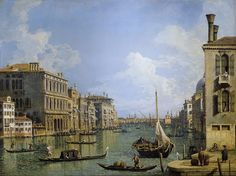 Canaletto - View of the Grand Canal -