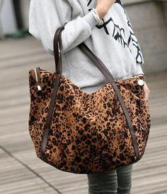 Leopard Pattern Tote