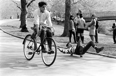 Skateboarding in New York City, 1965 - click through to view more!