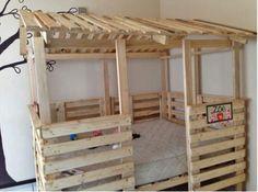 MENTŐÖTLET - kreáció, újrahasznosítás: Raklapos gyerekbútorok
