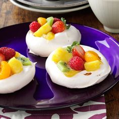 Easter Meringue Cups Recipe - Holidays