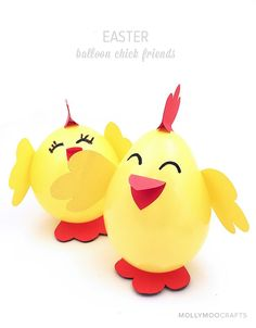 A sweet Easter chick craft to make with the littles.