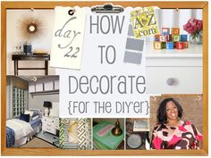 Wonderful list of the exact tools every DIY'er needs to have in her collection to get started. How to Decorate Series.