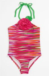 Love U Lots One Piece Swimsuit (Toddler) found something like this at target