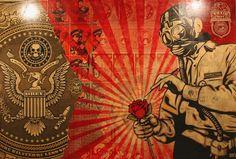 Shepard Fairey e pluribus venom wallpaper #desktop