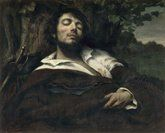 Courbet, The Wounded Man, 1844-54