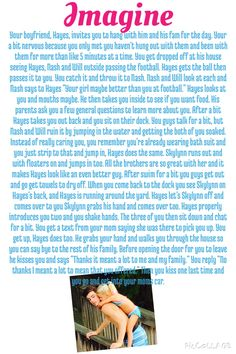 Hayes Grier Imagine for @AllyssaSharpee