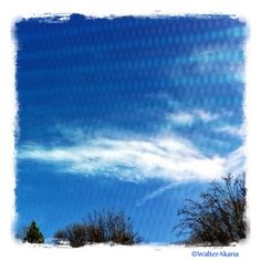 Digital Blue. #iPhoneography