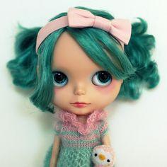 Blythe. The doll is creepy but I like the name.