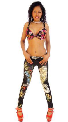 Sexy, Skin-tight Leggings, Forever Love, Black #thesexiestlingerie, #leggings, #tightpants