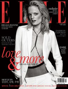 Elle Korea March 2013, Hanne Gaby Odiele