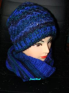 Kulich a nákrčník pro pány Knitted Hats, Knitting, Fashion, Hobbies, Moda, Tricot, Fashion Styles, Breien, Stricken