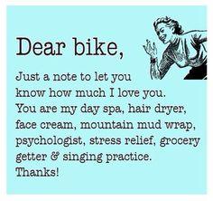 Dear Bike