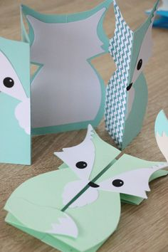 Announce card thank you customizable baptism invitation - Einladung - Origami Handmade Birthday Cards, Diy Birthday, Birthday Ideas, Diy And Crafts, Crafts For Kids, Paper Crafts, Kids Cards, Baby Cards, Tarjetas Diy
