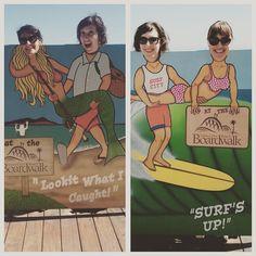 Santa Cruz CA: Successful day at the beach for this player #boardwalklife #beachblanketbingo #whyarethesecrackingmeupsohard by steffieann