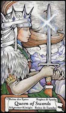 October 16 Tarot Card: Queen of Swords (Hanson Roberts deck) YOU know what's best for you. Have confidence in your choices and go your own way
