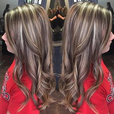 "13 Likes, 1 Comments - Lotus (@salonlotus) on Instagram: ""#sunprairiewi #stoughtonwi #expertsinhaircolor #highlights #lowlights"""