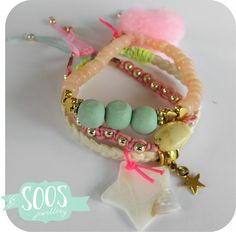 Pastel mint and Fluor