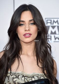 Camila with blue eyes