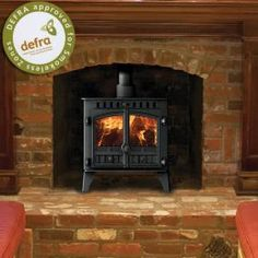 Hunter Multi Fuel Stoves | Buy 5KW Herald 5 Slimline 1 or 2 Door Multi Fuel Stove Online | UK Stoves