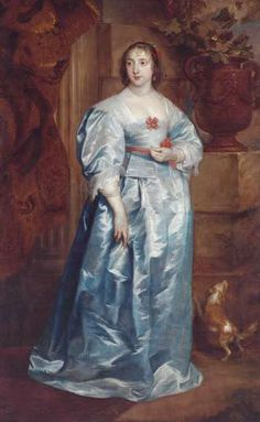 A Lady of the Spencer family by Sir Anthony van Dyck, 1633-38.