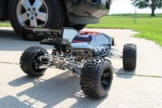 Unlimited Engineering Support Forum - WheelMan's first ever UE build Traxxas T Maxx, Bar Stock, Monster Trucks, Engineering, Spring, Mechanical Engineering, Technology