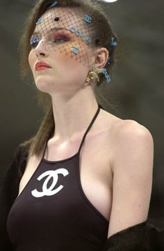 CHANEL Spring/Summer 2001. You want to talk about a throwback?