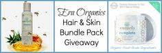 July 2015 Giveaway: Win Era Organics Skin & Hair Care Products