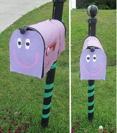 Blue's Clues Birthday Mailbox   Wayward Girls Crafts