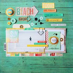 ★Scraptherapie★: {Simple Stories & A flair for buttons Swap Day 3}