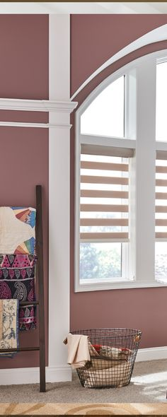 Color can connect your room with a mood. Use your artist's eye to pick from our layered shades palette and create a feeling that you love. @BaliBlinds Layered Shades