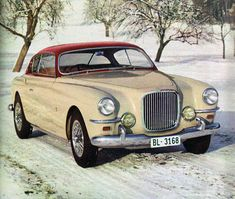 Apparently this was a Jaguar MkVII Coupe designed by Ghia. Not putting it under the Jaguar heading until established more details. Nice car though Bentley Continental Gt Cabrio, Volvo, Vintage Cars, Antique Cars, Retro Cars, Volkswagen, Automobile, Jaguar Daimler, Bmw Classic Cars