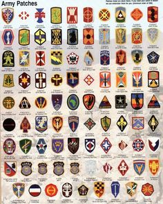 Us army patches army pinterest army patches and military