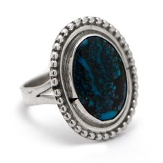 Oval Turquoise Ring at Maverick Western Wear