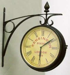 Looking for an inexpensive clock to hang off the side wall in the kitchen.  Where to get one cheap?  #clocks