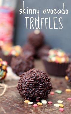 Avocado Chocolate Truffles | honey & figs