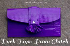 Duck Tape® Clutch – get #stuckatprom !   Sweet Cs Designs