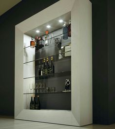 There comes a time in every adult's life when a bar cart just won't do anymore. In which case, it might be time to upgrade to a bar cabinet. Home Bar Rooms, Home Bar Areas, Home Bar Decor, Bar Furniture For Sale, Home Bar Furniture, Bedroom Furniture, Furniture Ideas, Bar Counter Design, Home Bar Cabinet