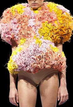 "Say it with flowers, but maybe say something more than ""I hate my life"" Maison Martin Margiela (Martin is a serial offender)"