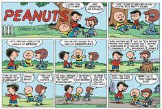 Peanuts Begins Comic Strip, May 29, 2016     on GoComics.com