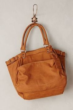 Vanessa Bruno Le Lune Shoulder Bag Caramel All Bags #anthrofave