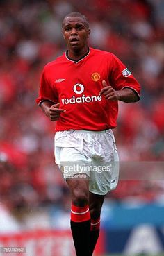 Sport Football FA Charity Shield Wembley13th August Chelsea 2 v Manchester Utd 0Quinton Fortune of Manchester United