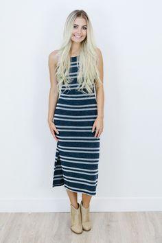 *Hattie Stripe Dress - Shop AOF Dress - 1