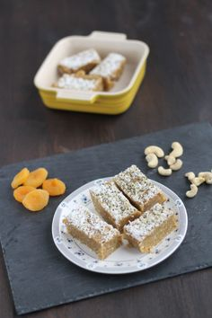 Coconut Cashew Apricot Energy Bar