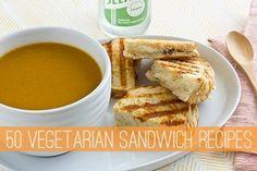 50 Vegetarian Sandwich Recipes