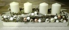 Christmas advent decor.