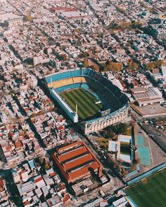 La Bombonera in Argentina 🇦🇷 Home of Boca Juniors. For detailing please visit my site Real Madrid Wallpapers, Argentina Football, Sports Complex, Football Stadiums, Messi, South America, Liverpool, City Photo, Georgia