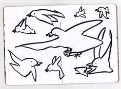 The sexy centerfold from my Sketchbook Project sketchbook. Bird Doodle, Sketchbook Project, Far Away, Bird Feathers, Love Of My Life, Equation, Cool Photos, Doodles, Birds