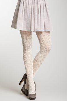 Pointelle Crochet Tight